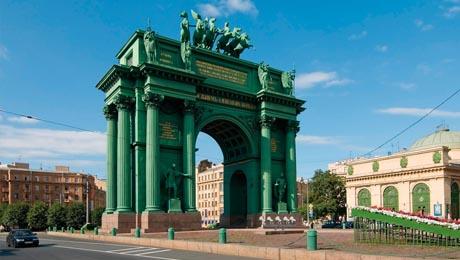 Arco del triunfo de Narva