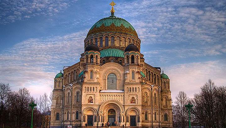 Catedral Naval de San Nicolás en Kronstadt