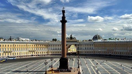 Palacio de Invierno y la Columna de Alejandro