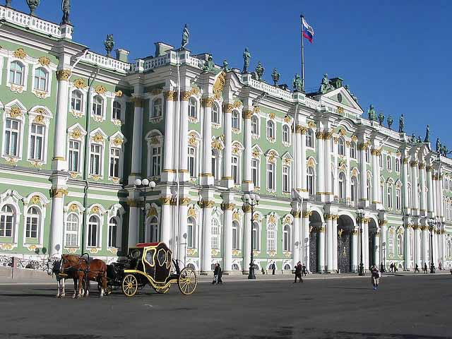 State Hermitage Museum, St. Petersburg, Russia