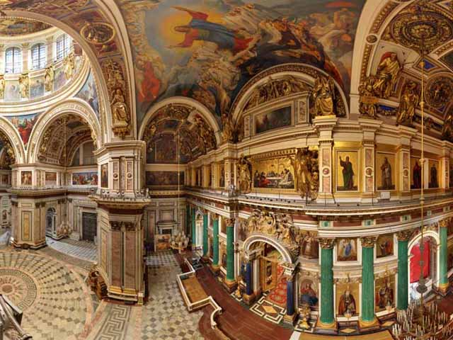 Saint Isaac's Cathedral, St. Petersburg, Russia