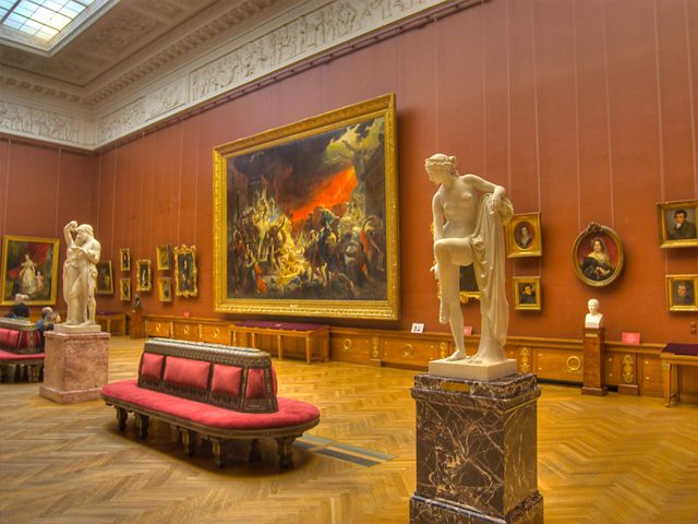 The Russian Museum, St. Petersburg, Russia