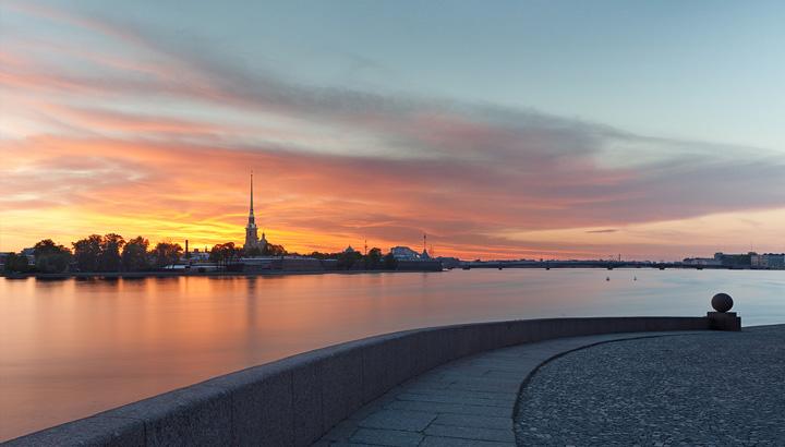 La fortaleza de San Pedro y Pablo en San Petersburgo
