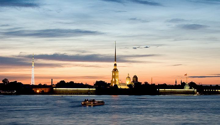 Rios y canales en San Petersburgo