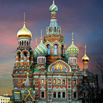 Church of Savior on the Spilled Blood in St Peterburg