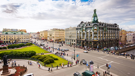 Pasear por la Avenida Nevsky