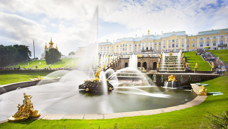 Visit Grand Peterhof Palace and Grand Cascade