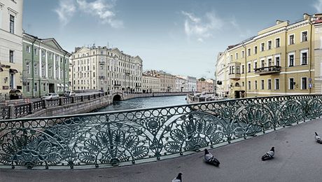 Puente Pévchesky (Puente del Canto)