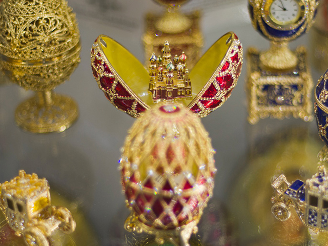 Faberge museum, St. Petersburg, Russia
