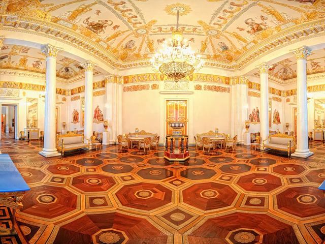 Le Musée Russe à Saint-Pétersbourg, Russie