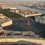 Explore historic centre of St Petersburg